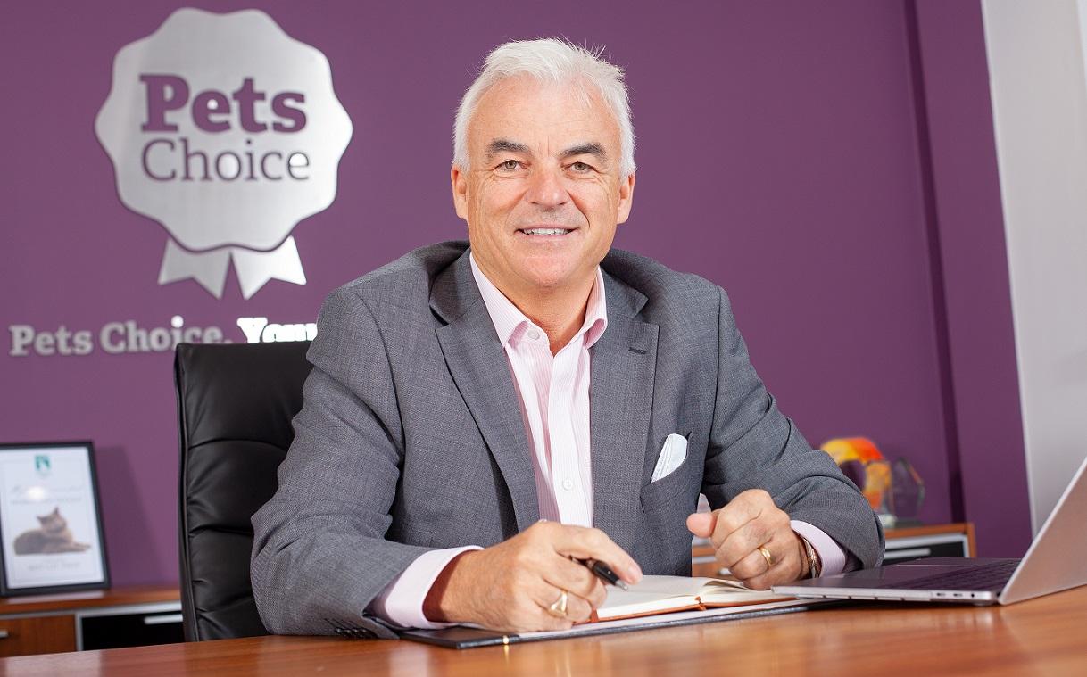 Tony Raeburn CEO of Pets Choice