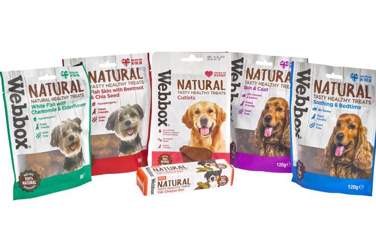 Webbox Natural Dog Treats