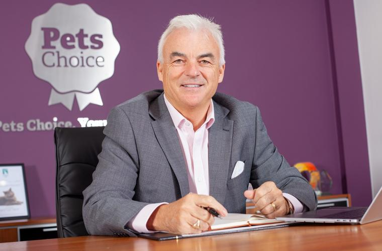 Tony Raeburn CEO of Pets Choice